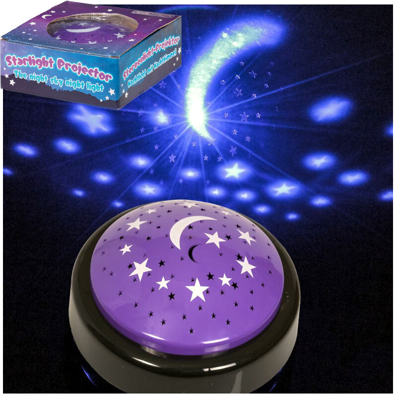 Starlight Projector Toy Lamp Stars Night Light Childs