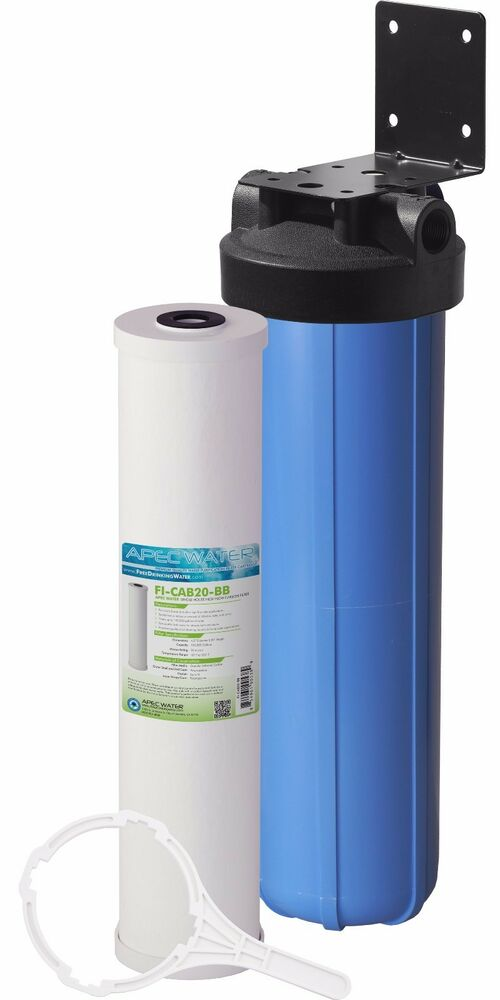 Apec 20 Quot Big Blue Whole House Water Filtration System With