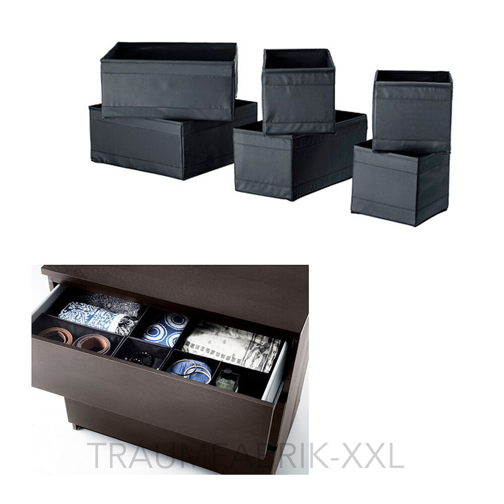 6er set aufbewahrungsboxen aufbewahrungsbox box boxen. Black Bedroom Furniture Sets. Home Design Ideas