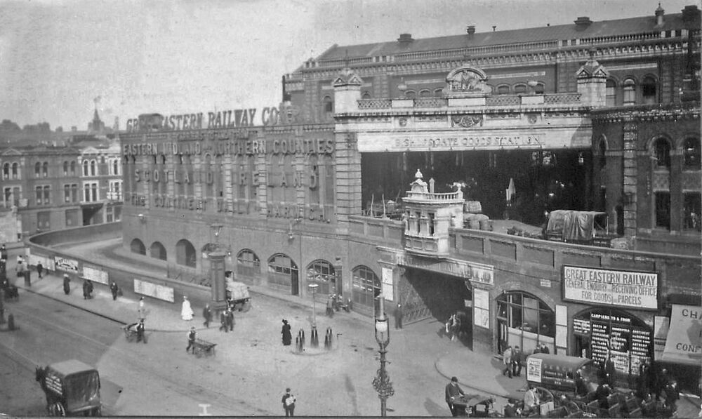 Bishopsgate railway station photo great eastern railway for Photographs for sale online