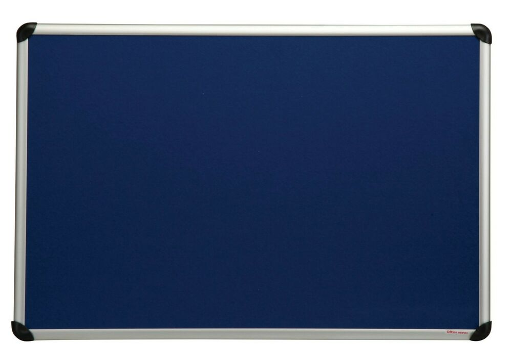 Felt Notice Board Aluminium Frame Choice Of 3 Colours