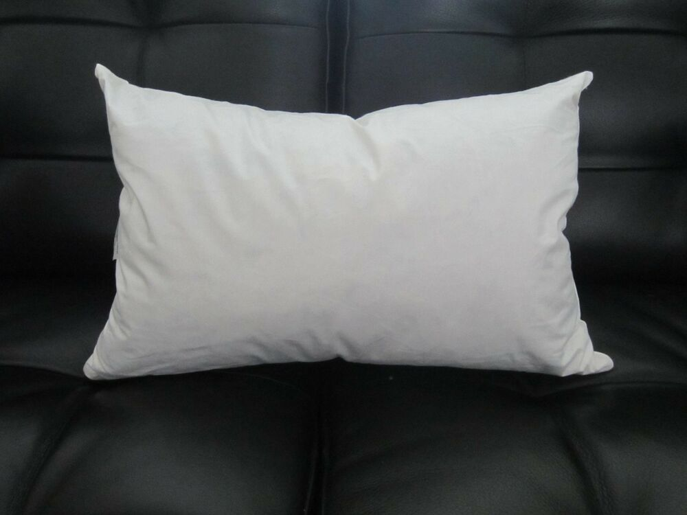 RECTANGLE Pillow Insert Form FEATHER / DOWN Oblong 12