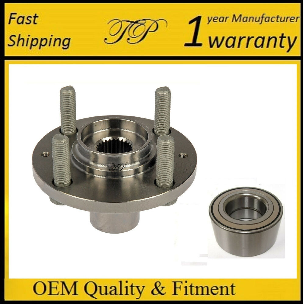Front Wheel Hub And Bearing Kit Assembly For Hyundai Accent 2000 2012 Ebay