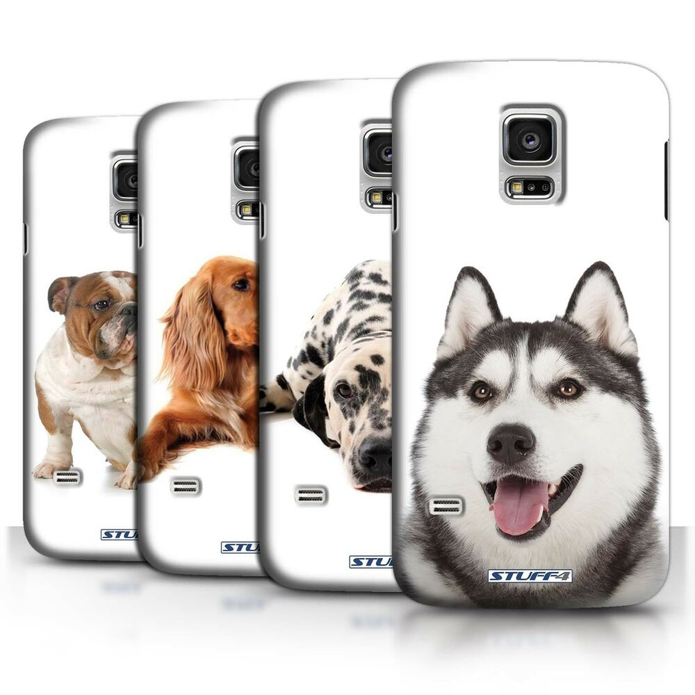stuff4 h lle case backcover f r samsung galaxy s5 mini hund hunde ebay. Black Bedroom Furniture Sets. Home Design Ideas