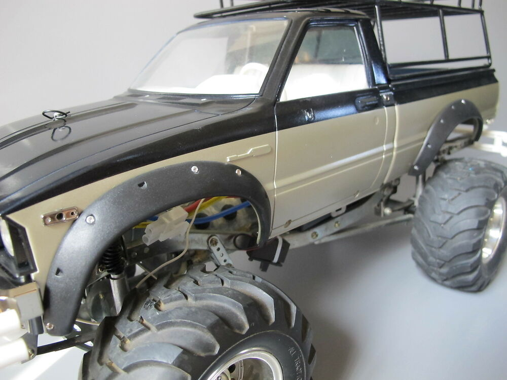 rubber fender flares set tamiya rc 1 10 toyota 4x4 pick up mountain rider rc4wd ebay. Black Bedroom Furniture Sets. Home Design Ideas