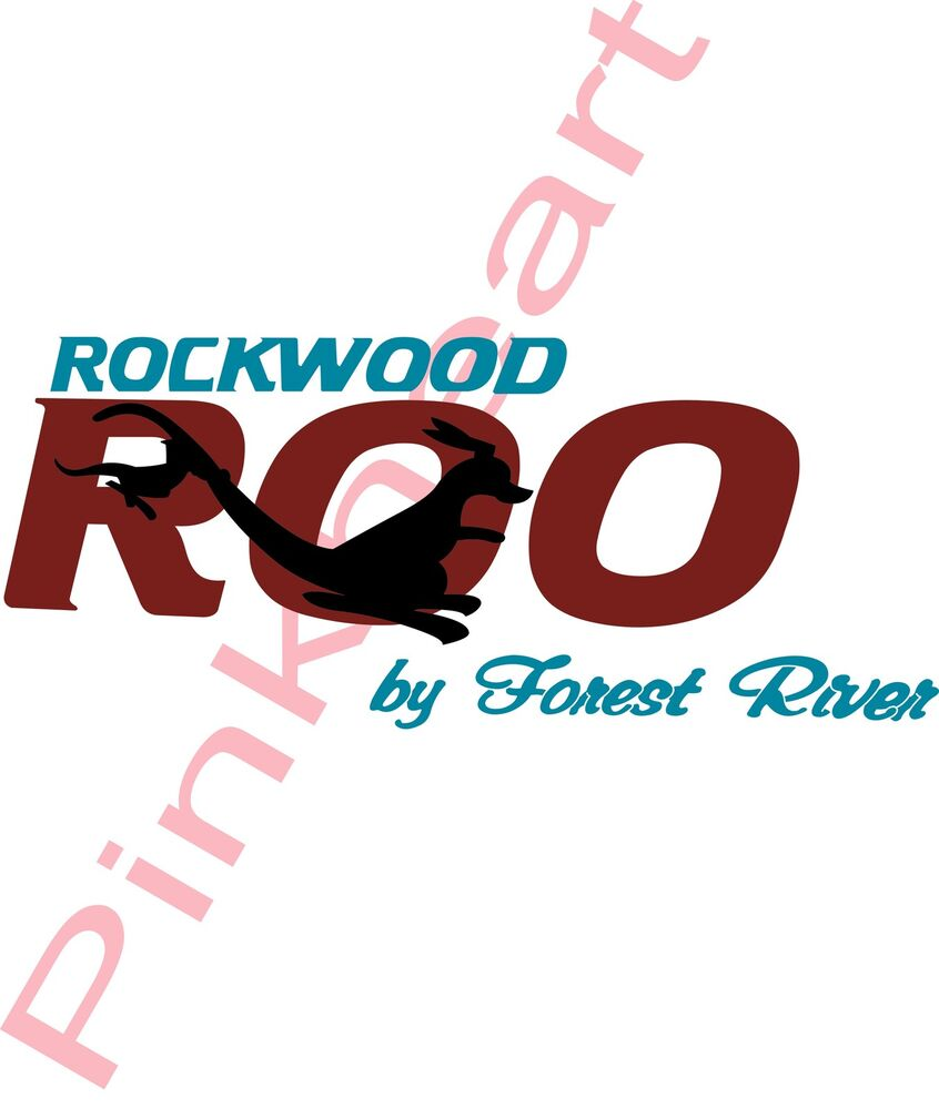 Rockwood Roo By Forest River Decal Rv Camper Decals