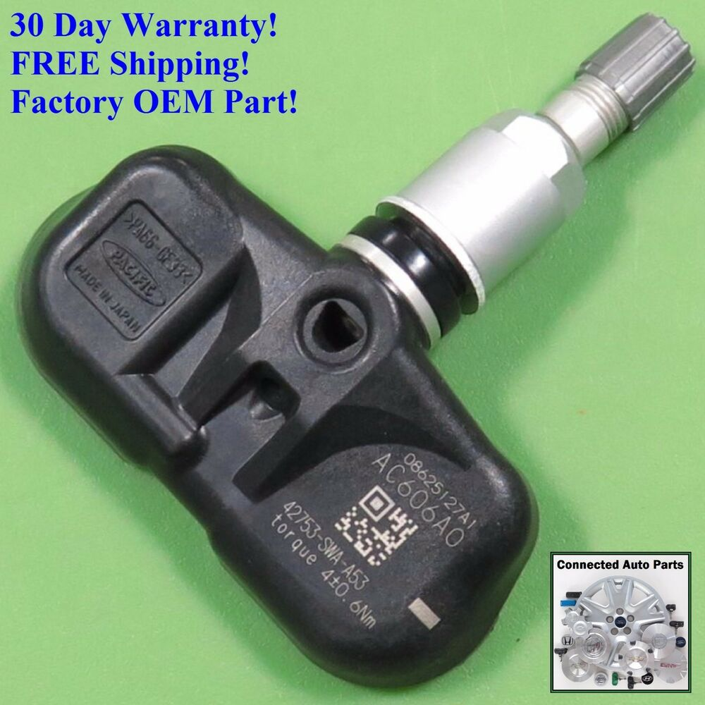Crv accord 08 fit tire pressure sensor tpms oem 42753 swa for 2008 honda accord tire pressure