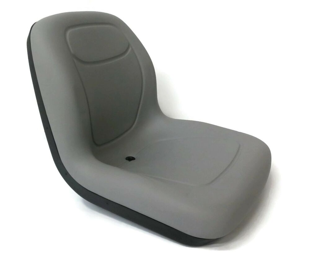 John Deere 110 Backhoe Seats : New grey high back seat for john deere lawn mower models