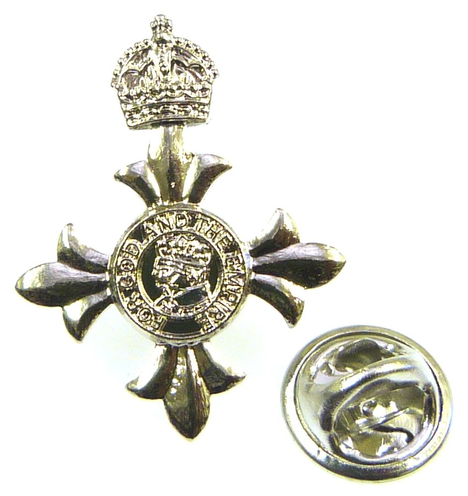 WWII British Army Officers enamel and brass shoulder pins