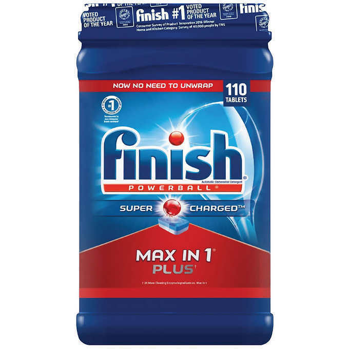 Finish All-In-One Dishwasher Detergent Powerball Tabs