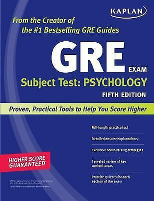 GRE – Department of Psychology