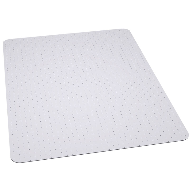 office chair mat carpet protector 36 39 39 x 48 39 39 clear vinyl. Black Bedroom Furniture Sets. Home Design Ideas