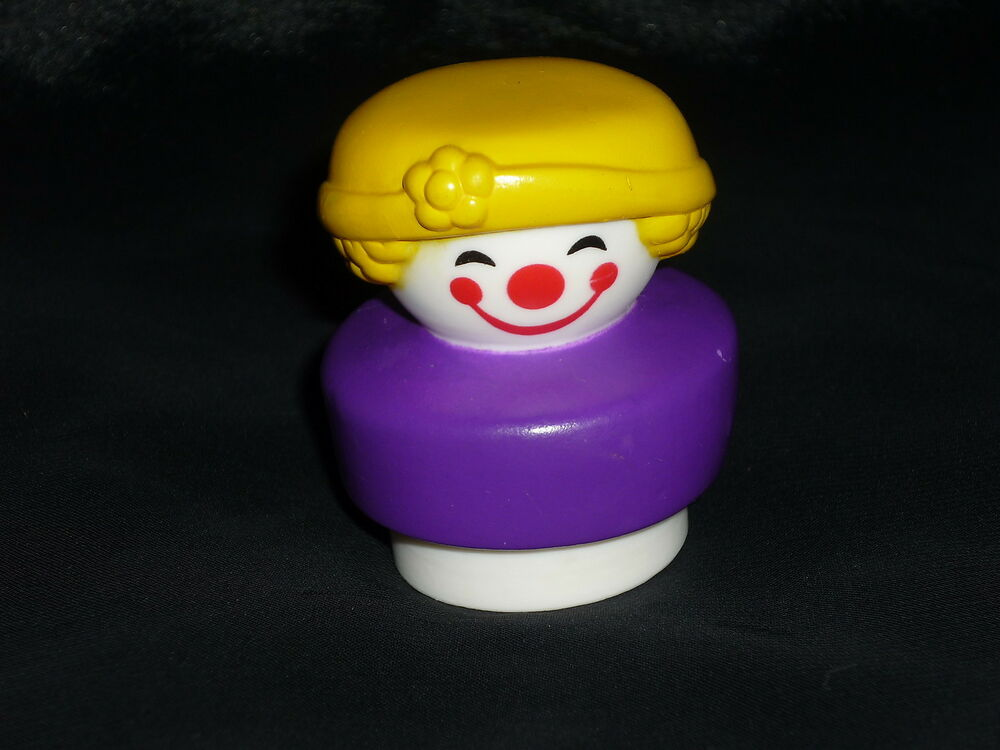 Fisher price vintage chunky little people circus clown ebay for Clown fish price