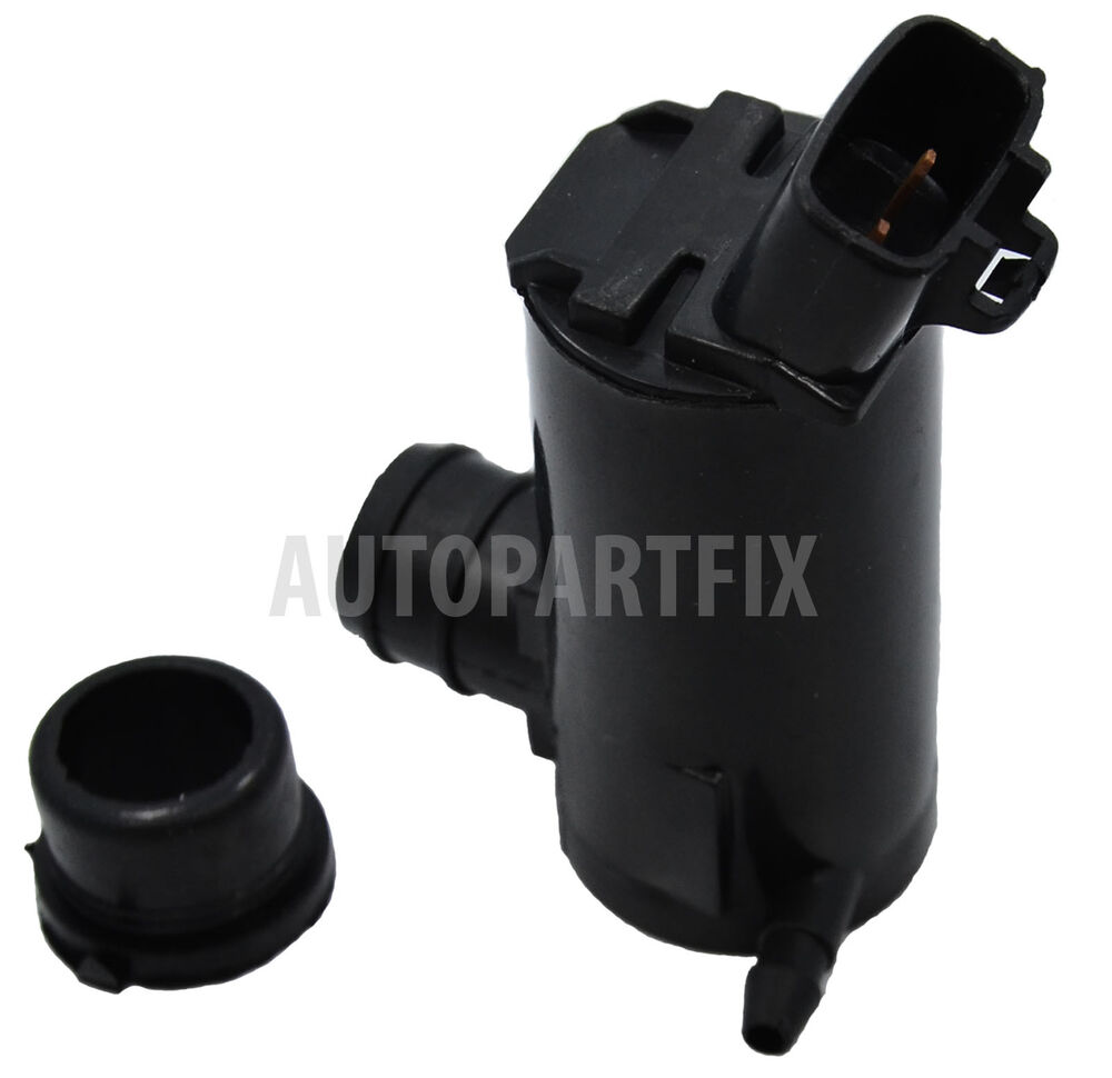 Toyota Sequoia Windshield Replacement Cost: Windshield Washer Pump With GROMMET Fits Toyota Matrix