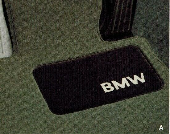 Bmw E46 3 Series Genuine Carpeted Floor Mat Set Mats New