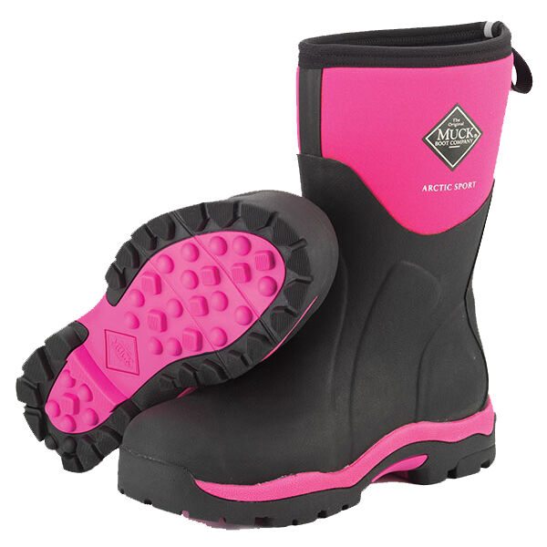 NEW Muck PINK Arctic Sport Womens Extreme Snow Winter Boots 6,11 ...