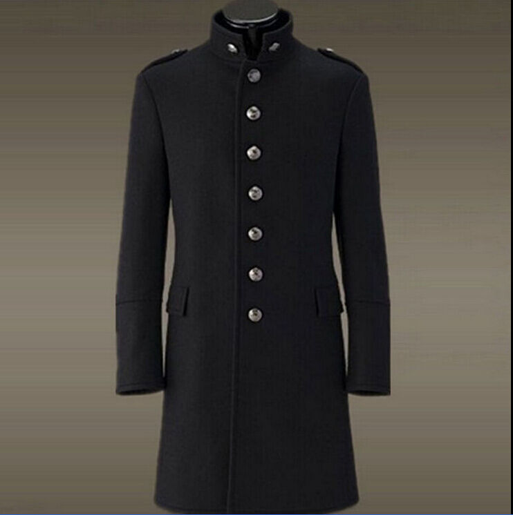 Collection Military Trench Coat Pictures - Reikian