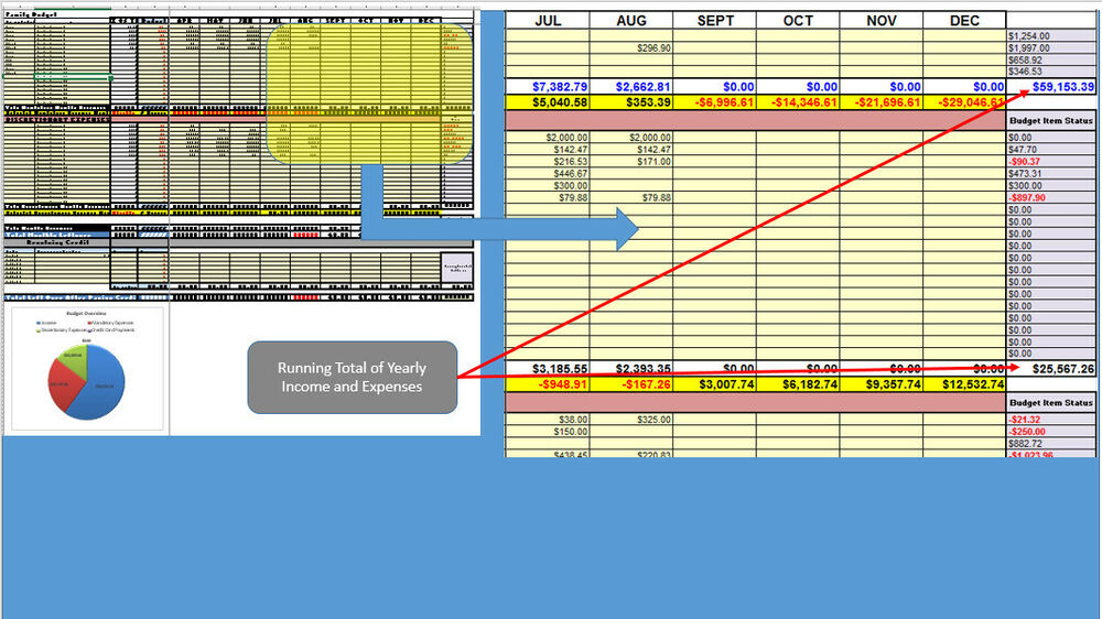 Personal Finance Manager  Free Excel Budget Template