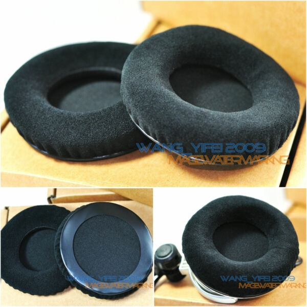 Velour Velvet Ear pads Cushion for AH Xone XD 53 XD-53 DJ Headphone Headset