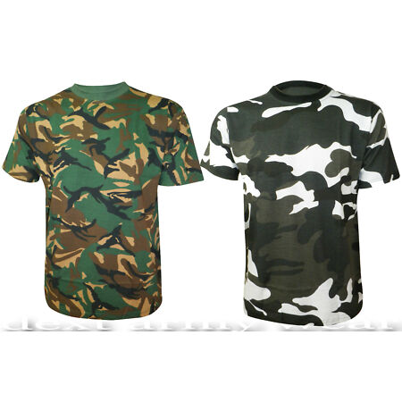img-MENS ARMY CAMOUFLAGE PRINT COMBAT MILITARY CASUAL TOP T-SHIRTS SIZES S - XL