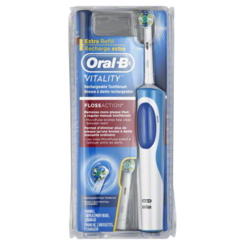 brand new oral b vitality rechargeable electrictoothbrush. Black Bedroom Furniture Sets. Home Design Ideas