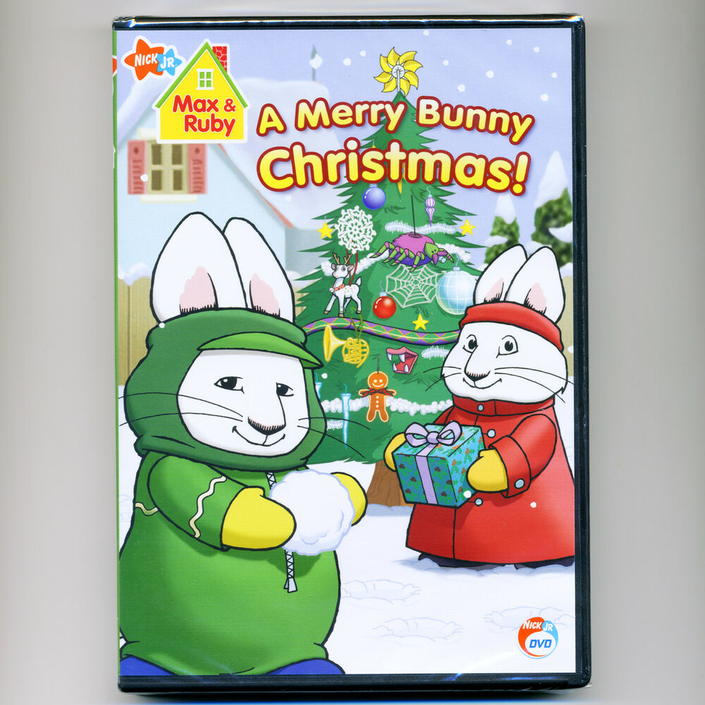 Merry Max Ruby Bunny Christmas Dvd And 4
