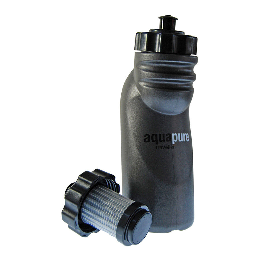 Pure Hydration Aquapure Traveller Portable Water Purification Filter Bottle