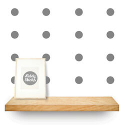 Polka Dot Wall Stickers 3 Sizes & 15 Colours Available: UK seller Free P&P