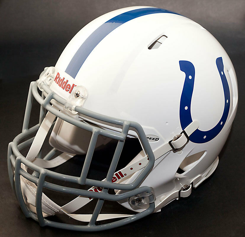 INDIANAPOLIS COLTS NFL Riddell SPEED Football Helmet (with ...
