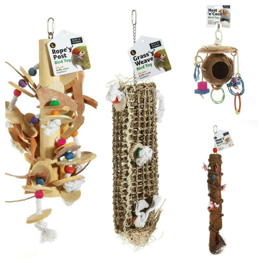 Parakeet Toys And Accessories : Sharples n grant large bird cage toys accessories