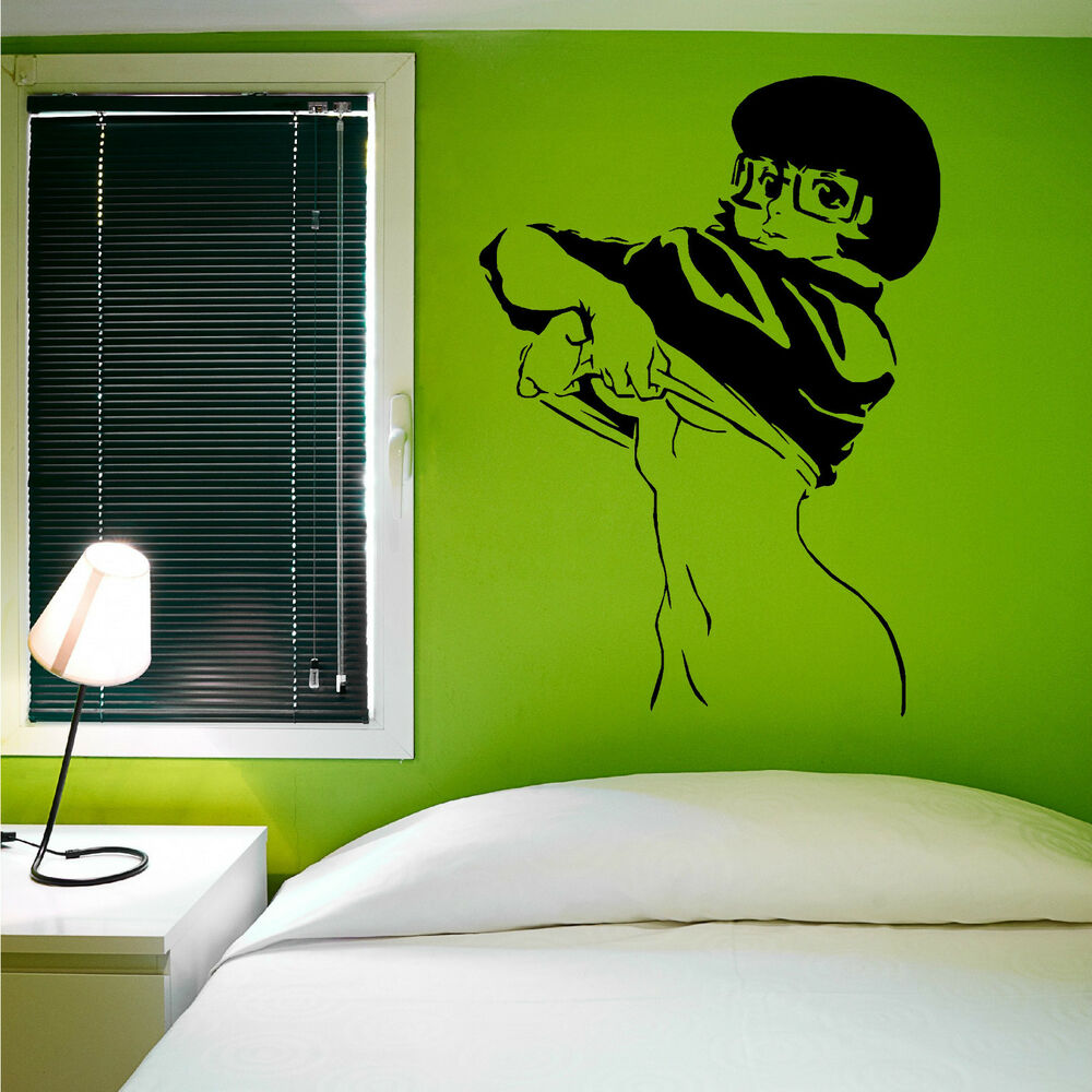 Scooby Doo Bedroom Accessories Sexy Velma Scooby Doo Vinyl Wall Art Sticker Room Decal Ebay