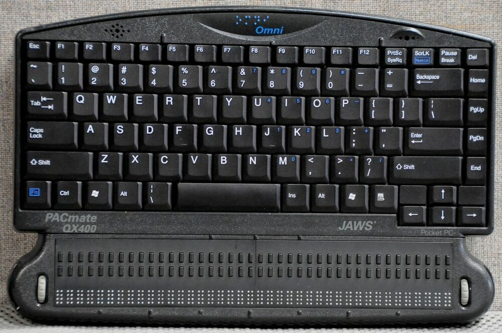 Pacmate Omni Qx440 Windows Laptop 4 Blind W 40 Cell