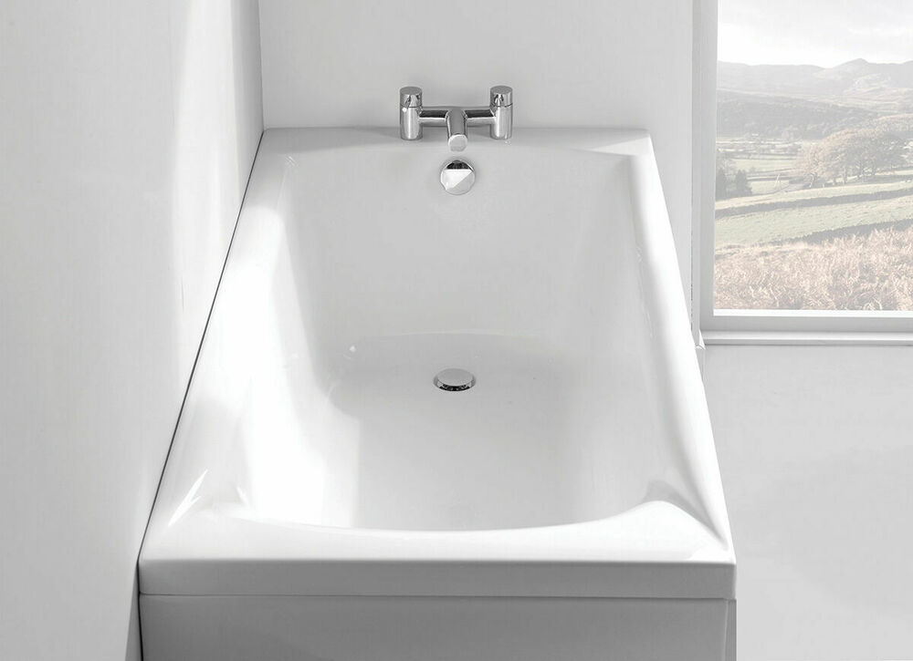 1650mm 5 5 Quot Delta Carron Bath Carronite Strength Optional Made In The Uk Ebay