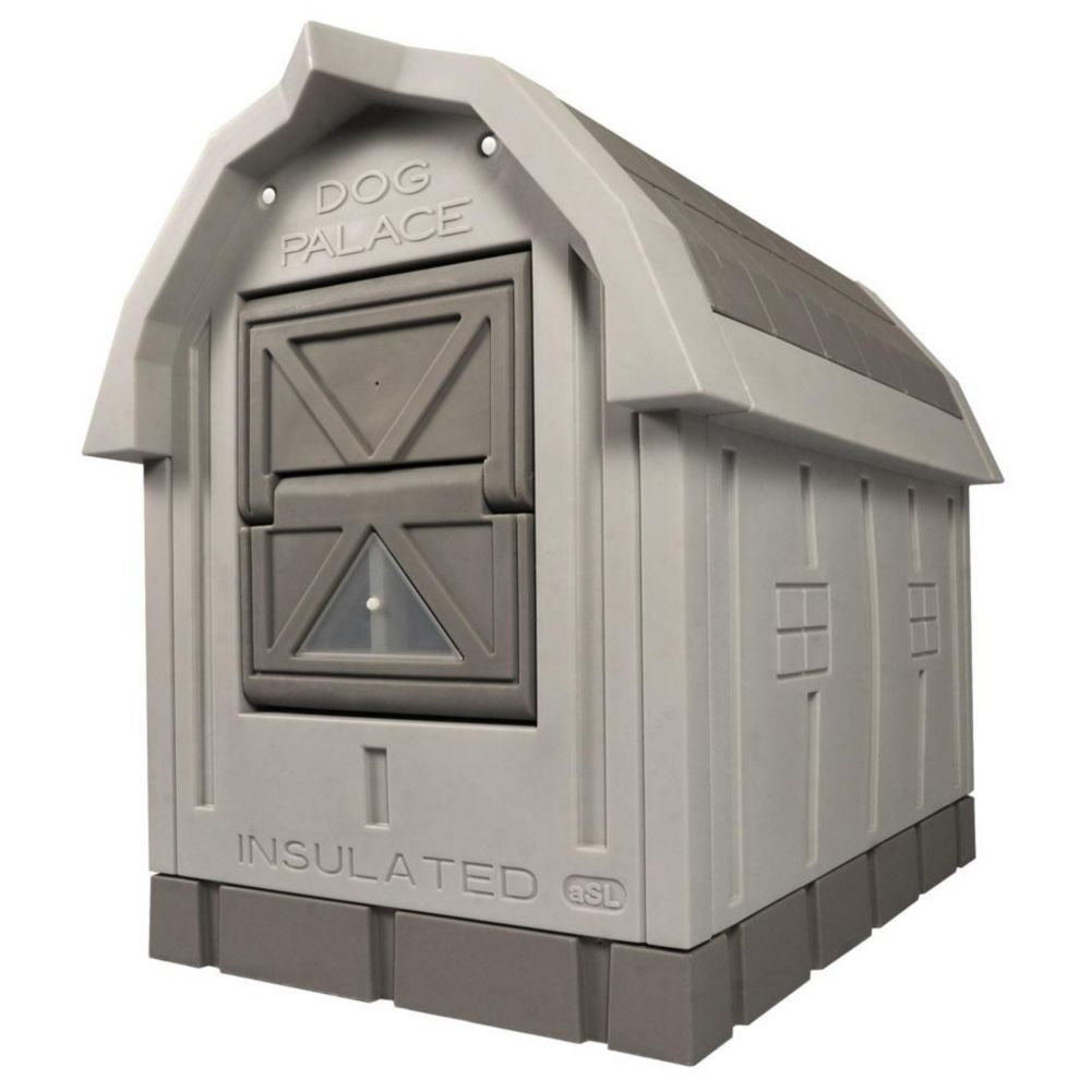 Asl Solutions Deluxe Large Insulated Dog House Palace With