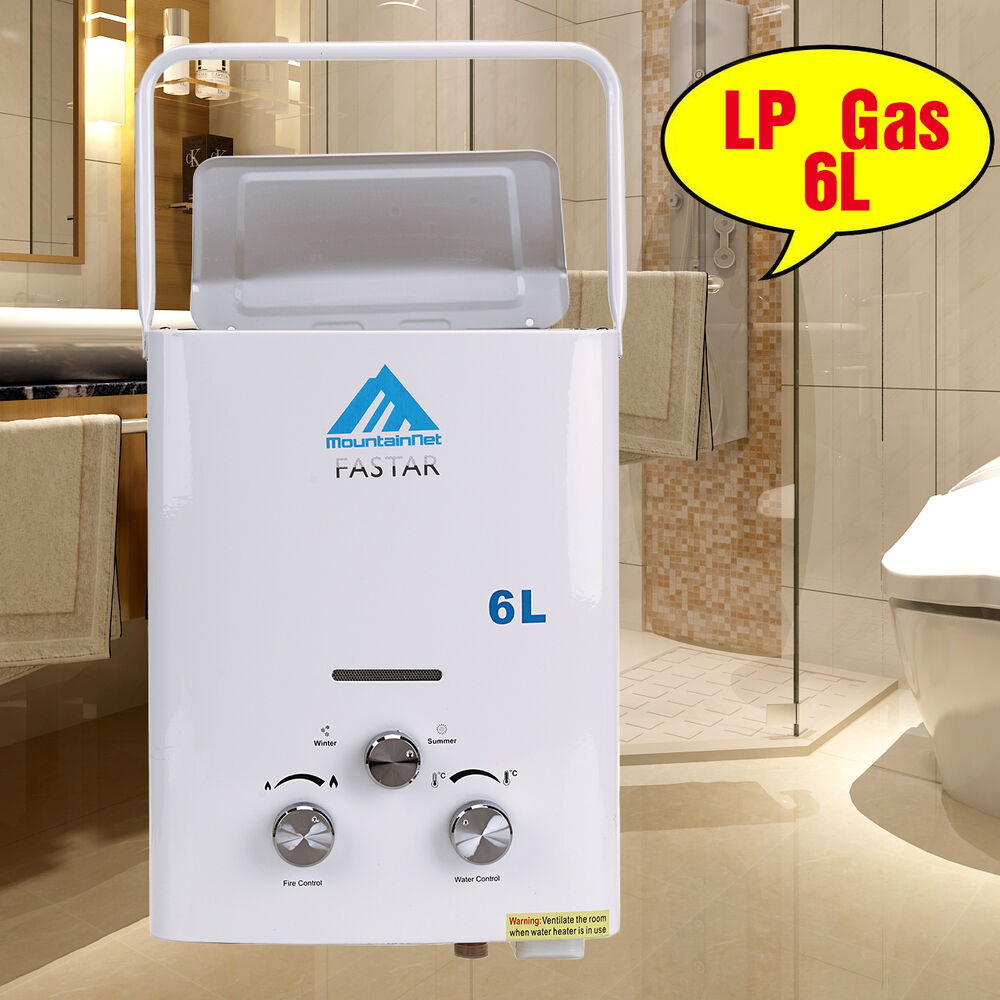 6l bester instant on demand portable propane lp gas for Hot water heater 101