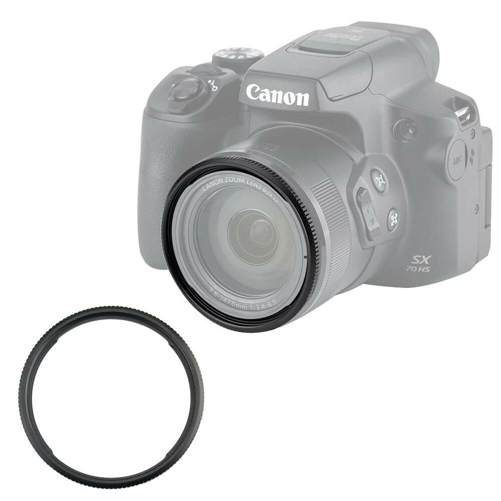 Adapter Ring And Filter For Canon Sx On Ebay