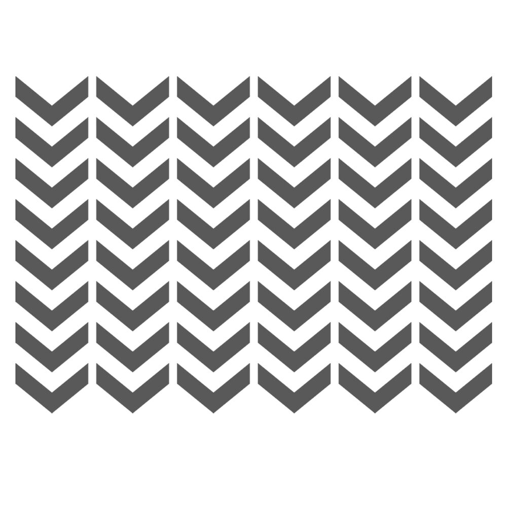 Chevron stencils template small scale for crafting for Chevron template for walls