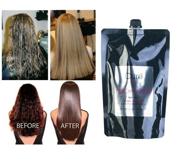 Japanese Cure One Step Hair Treatment Rebonding Straight