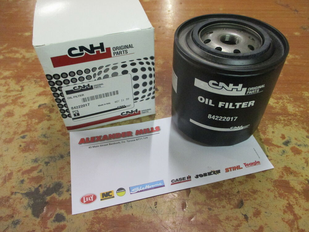 Case Backhoe Filters : Case ih tractor genuine engine oil filter steyr