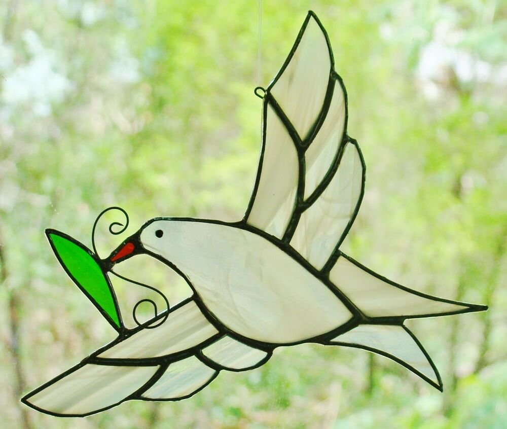 Dove with Olive Leaf Graphic