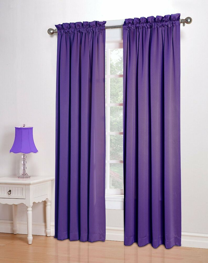 Sun zero barrow 54 by 84 inch room darkening curtain panel Dark curtains small room