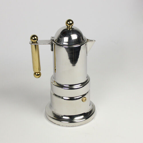 Italian Coffee Maker Stainless Steel : Stainless Steel Moka Express 4-Cup Coffee Maker Stovetop Espresso Pot eBay