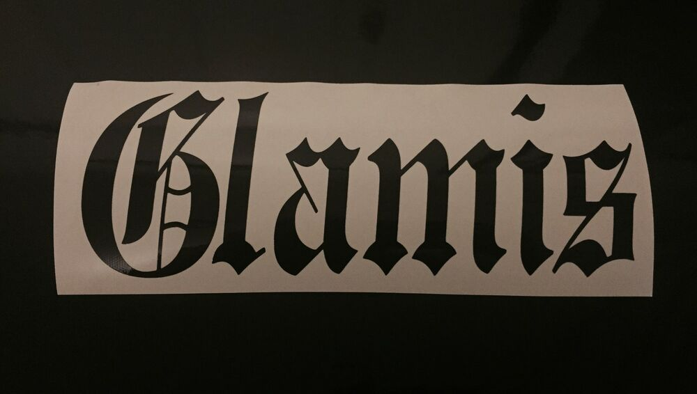 Glamis Offroad Custom Vinyl Sticker Decal Choose