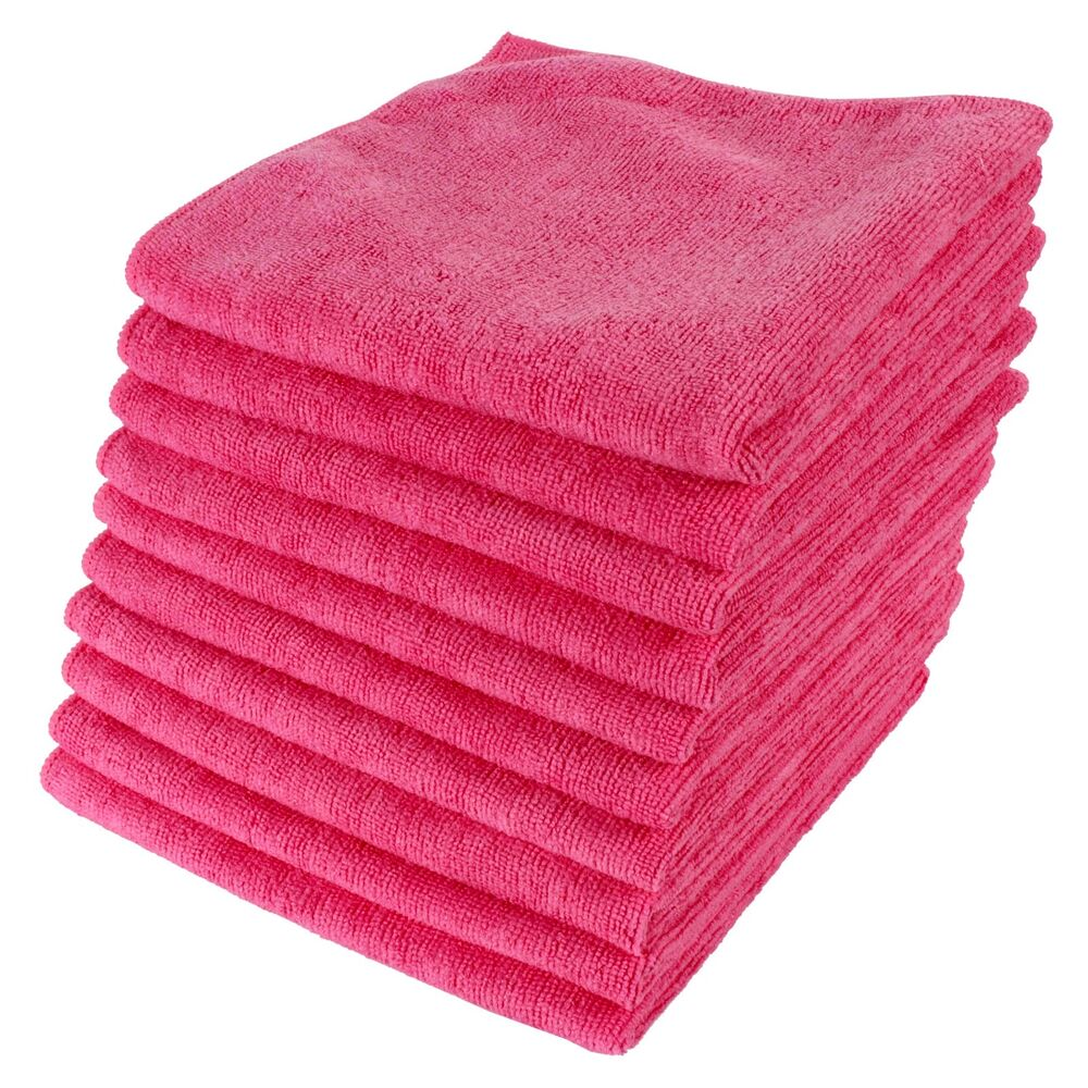 12 x m cloth micro fibre lint free microfibre cloths. Black Bedroom Furniture Sets. Home Design Ideas