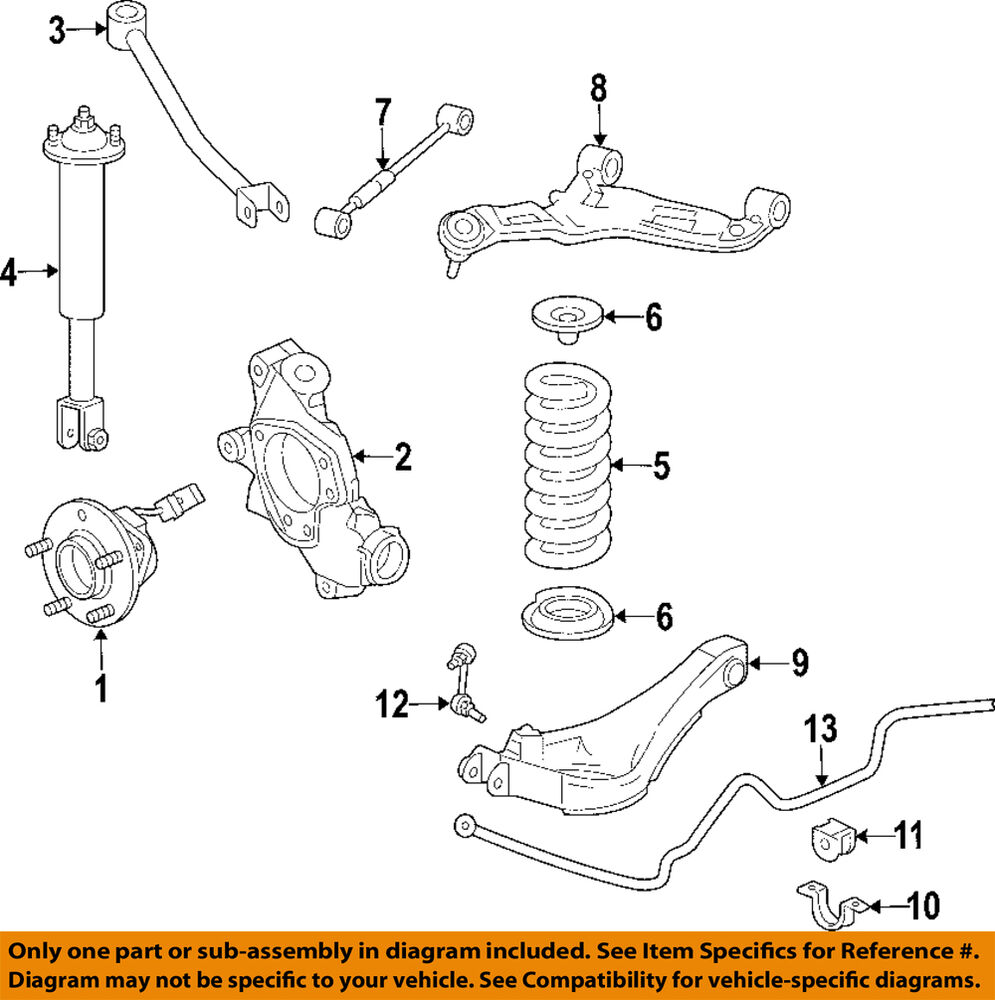 Cadillac rear suspension diagram free engine