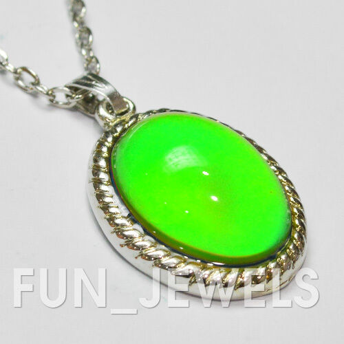 New vintage style multi color changing oval stone mood for Fashion jewelry that won t change color