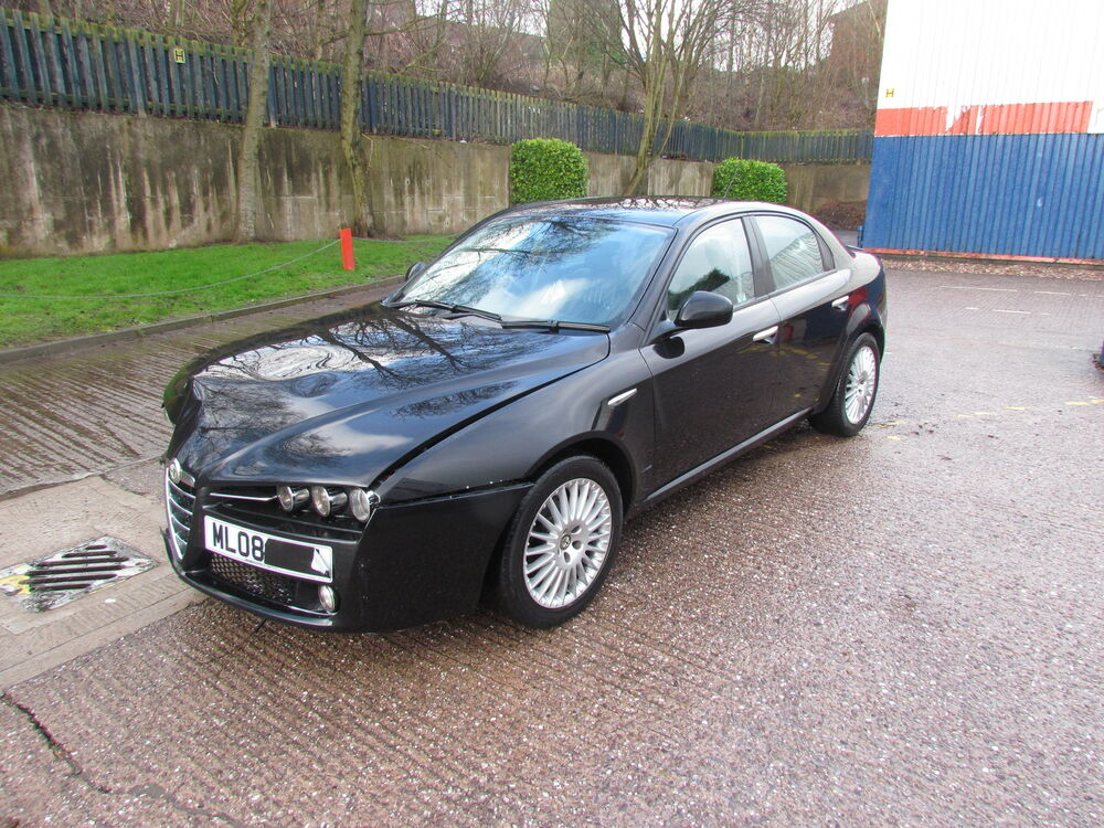 alfa romeo 159 1 9 jtdm 2008 breaking for spares 4x wheel nuts leather seats ebay. Black Bedroom Furniture Sets. Home Design Ideas