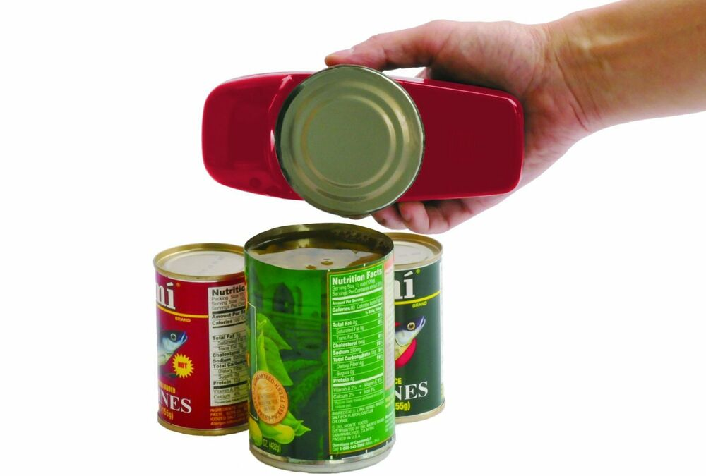 Portable Electric Can Openers : Handy can opener hands free automatic portable electric