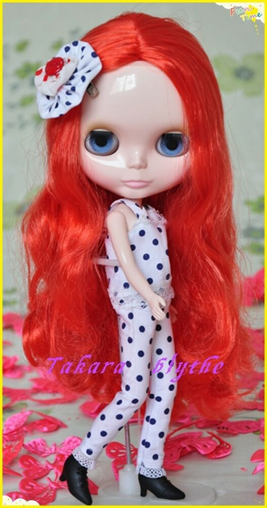 ICY Nude Blyth doll No.BL2352 Pink hair JOINT body Super