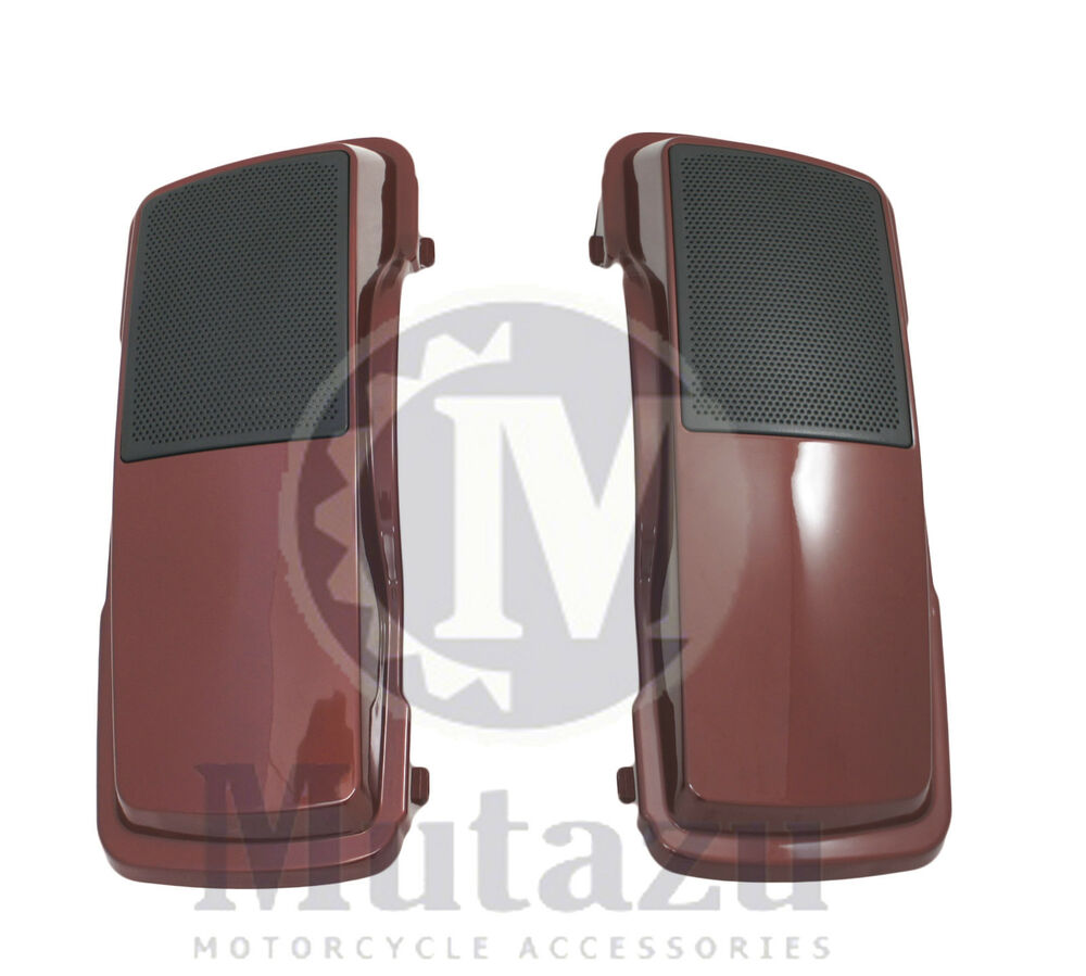 Mutazu Fire Red Pearl 6 Quot X9 Quot Speaker Lids For Harley